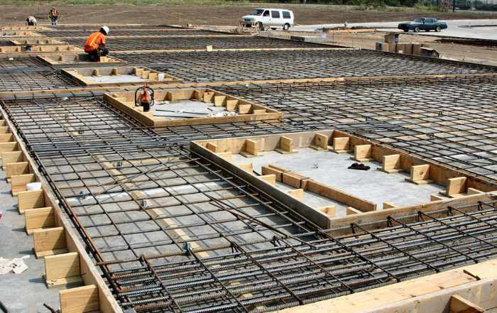 Construction of Different Types of Foundations in a Building